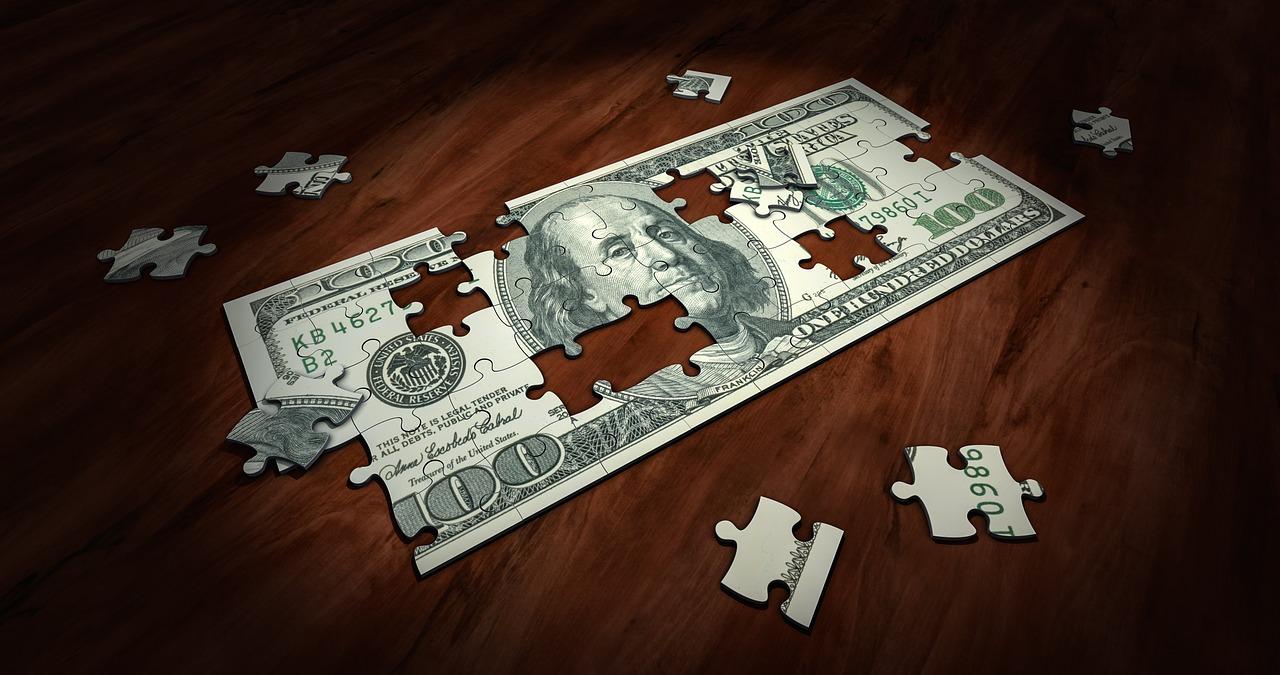 dolar jako puzzle
