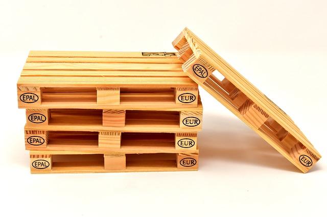 euro palety ze dřeva